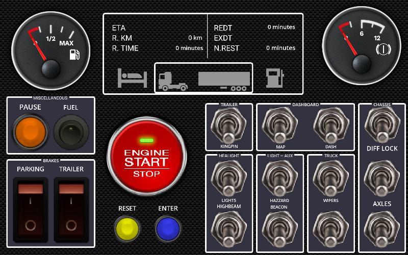 Faaqidaad : Ets2 button box app