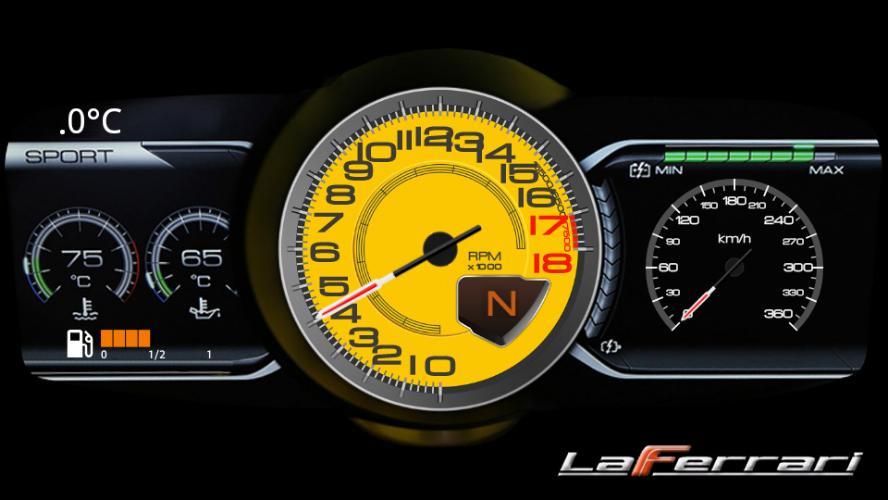 La Ferrari Dash Community Design Sim Dashboard