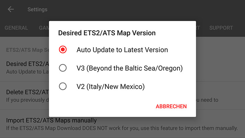 ETS2 / ATS Map Download (incl  Troubleshooting) - SIM Dashboard