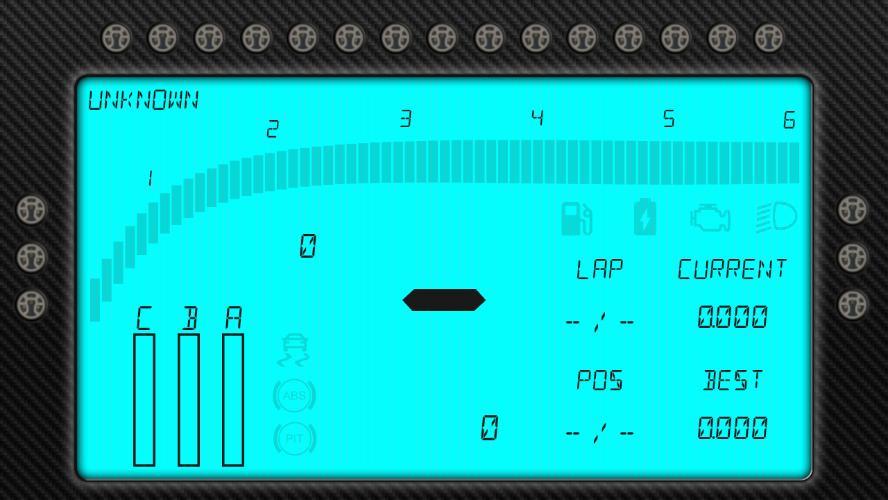 Modern Motec Style (community design) - SIM Dashboard
